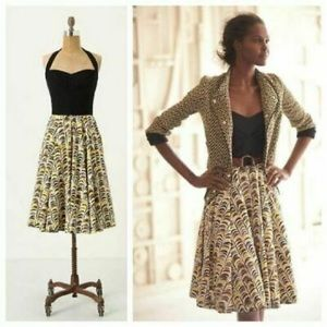 Anthropologie Girl From Savoy dress size 0